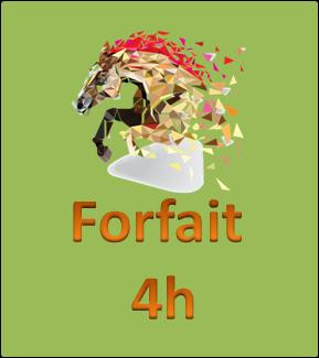 Forfait 4 heures
