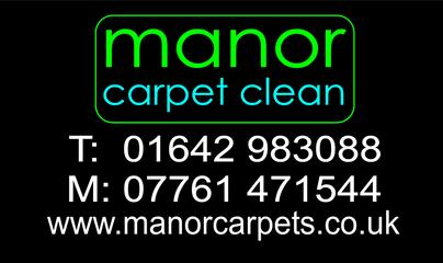 Manor Carpet Clean, Middlesbrough. We cover the TS and DL postcode areas.